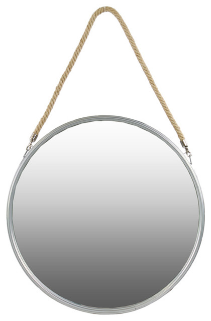 Metal Round Mirror Wall Mirrors By Urban Trends Collection
