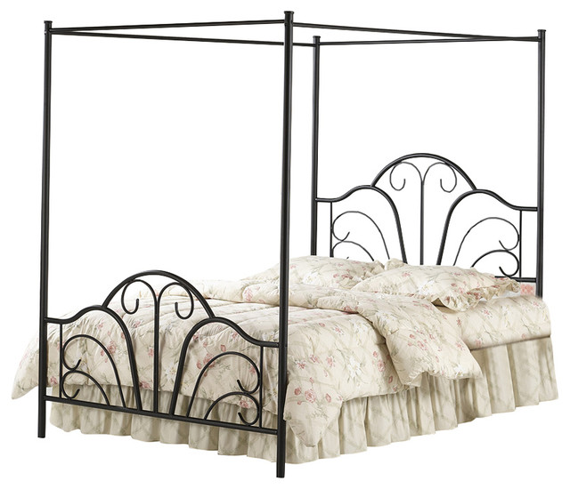 Dover Bed Set With Rails.