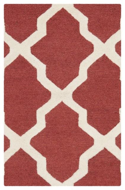 Ava Trellis Textured Rug, 60x91  Cm