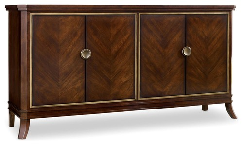 Hooker Furniture 5183-85001 68 Inch Wide Hardwood Cabinet from the Palisade Col