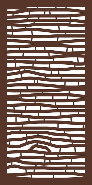 "Bamboo WPC Design Panel, Espresso, 48""x24"""