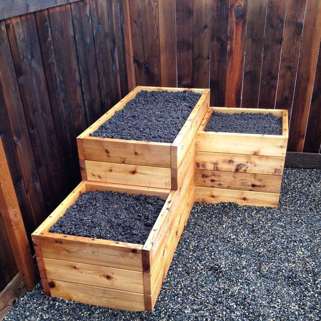 3 tiered corner raised garden bed - Corners For Raised Garden Beds