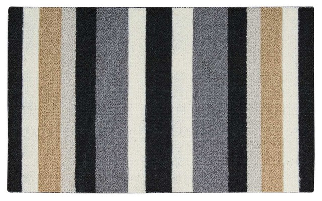 Enhance Accent Rug, Black, 1&x27;8x2&x27;9.