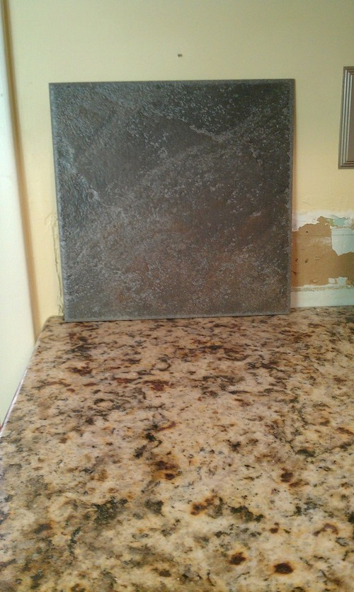Backsplash To Go With Giallo Napoli Granite???