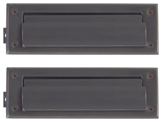 Mail Slot 3 Quot X10 Quot Mailboxes By Brass Accents Inc