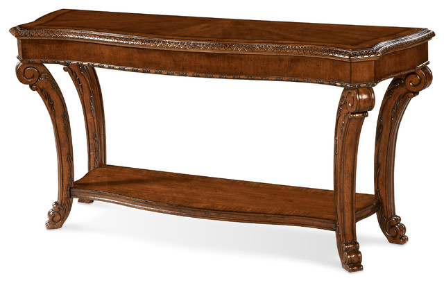 Old World Sofa Table.