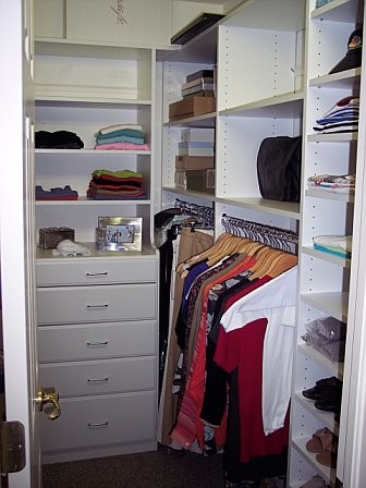 Before After Closet Makeover Traditional Closet Other By