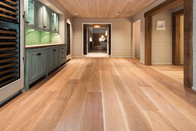 New White Oak Flooring - Select Grade Super Wide Plank