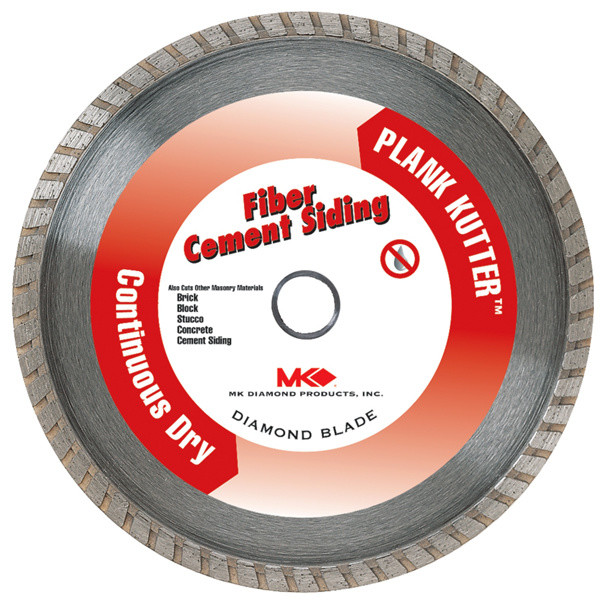 "Mk Diamond 157420 7"" Plank Kutter Fiber Cement Siding Continuous Dry Blade."