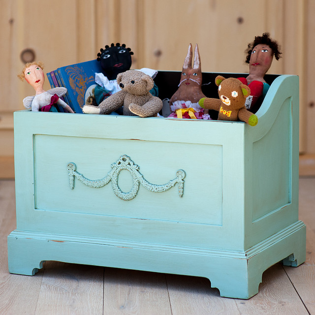 Mary Jane Toy Box by Sweet Elle Handmade Furniture