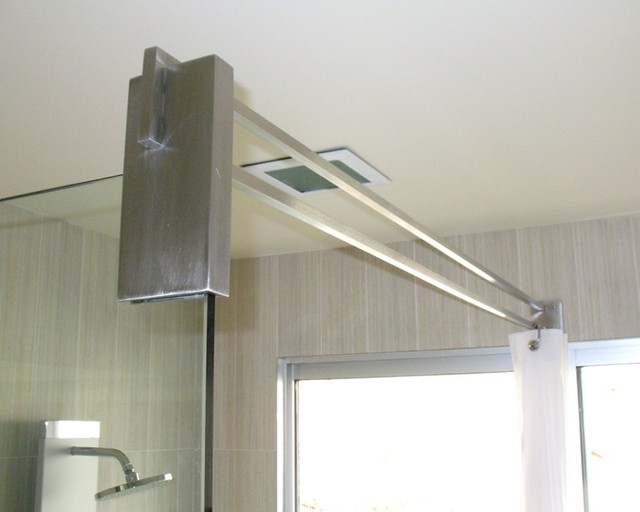 Stainless Steel Shower Curtain Rail Part - 36: Stainless Steel ...