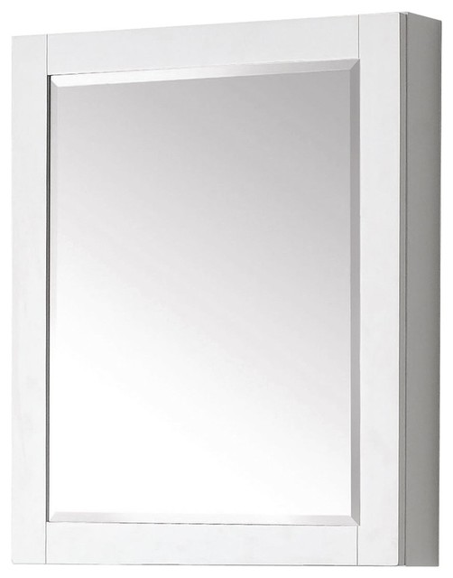 "Avanity 24"" Bathroom Mirror Cabinet - Transitional - Medicine Cabinets ..."