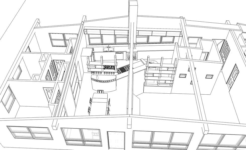 Interior_ 3D Sketch-Up Model
