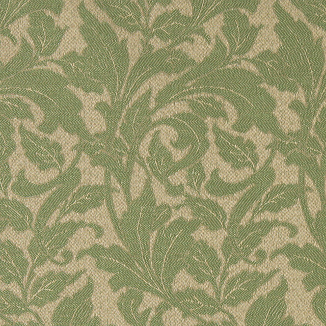 Olive Green Leaves Outdoor Indoor Marine Upholstery Fabric By The Yard Contemporary Palazzo Fabrics