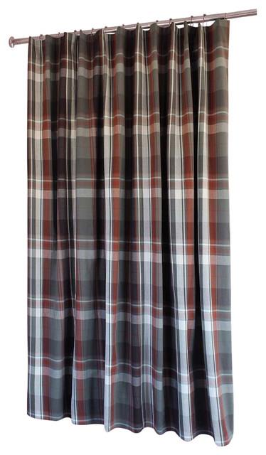 Grand Teton Plaid Shower Curtain Southwestern Shower Curtains By Carstens