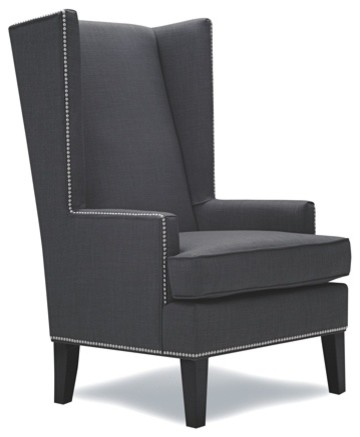 artefac stylish wingback accent chair armchairs and accent chairs