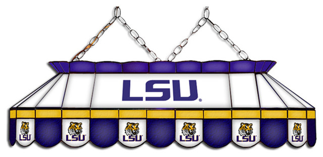 Wave 7 Lsu Tigers Mvp Stained Glass Lamp Amp Reviews Houzz