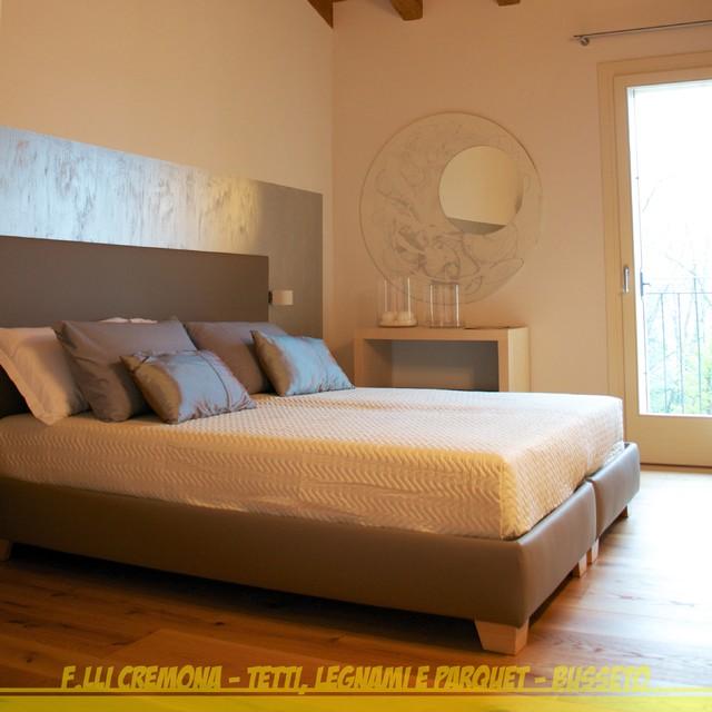 Parquet Rovere Rustico - Rustic Oak Floor - Moderno - Camera da Letto ...