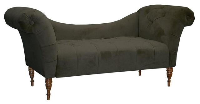 Pewter Chaise.