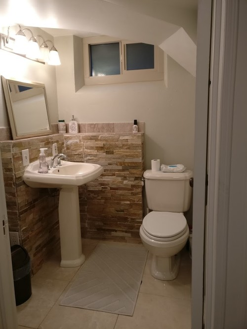 what s the value of adding a shower in a basement bathroom