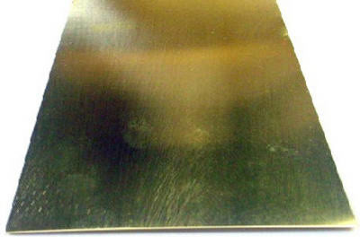 "K/&S 8246 Brass Strip 0.064/"" x 1//2/"" x 12/"""