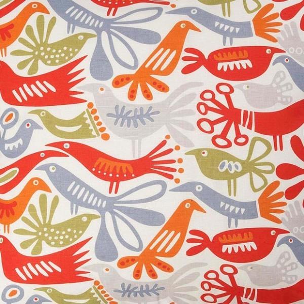 Klippan Bird Swedish Fabric