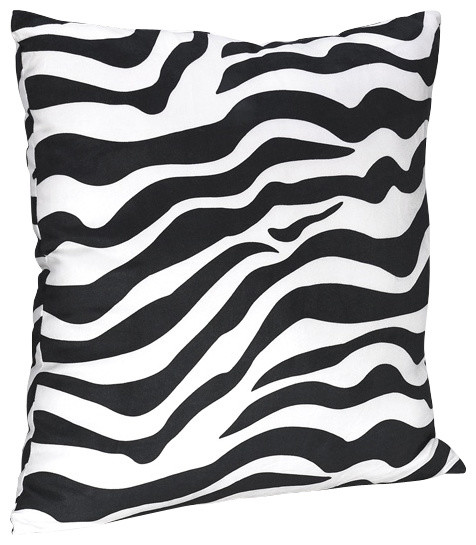Green Zebra Pillow