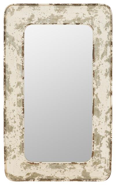 Jaycee Farmhouse Wall Mirror, Inca Contemporary Full Length Leaner Mirror Black