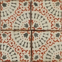 Counter for Spanish tile backsplash
