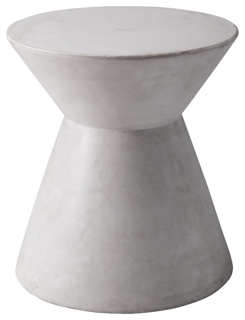 Astley End Table, White.