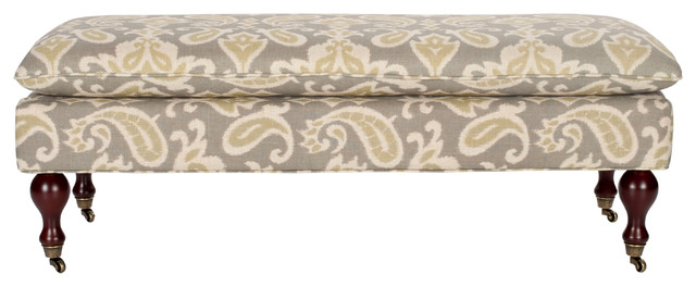 Safavieh Hampton Pillowtop Bench.