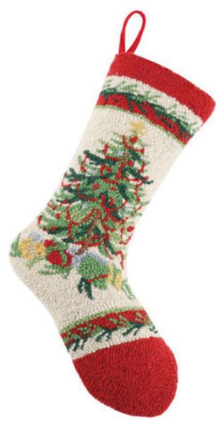 Old fashioned christmas tree hook stocking christmas for Fashion christmas stockings
