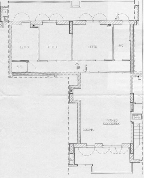 living e cucina in 35 mq (5x7) - Soggiorno Cucina 35 Mq
