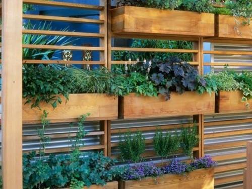 Hilfe bei der gestaltung von terrasse vorgarten und - Terrassen abtrennung ...