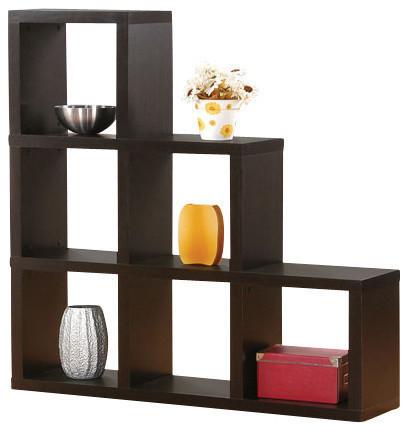 Acme Duke Bookcase, Espresso.