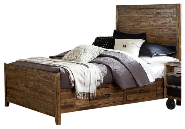 Wild River Storage Captains Bed Farmhouse Kids Bedroom Furniture Sets b