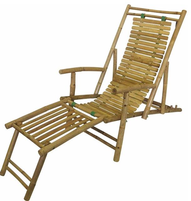 Enjoyable Bamboo Recliner Lounge Chair Creativecarmelina Interior Chair Design Creativecarmelinacom