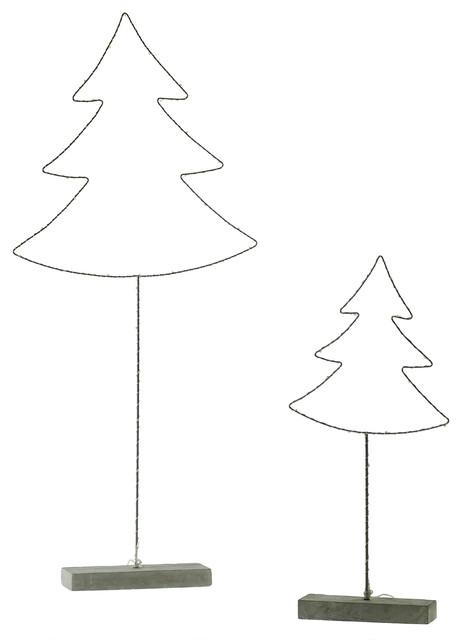 LED Glee Tree Set of 2
