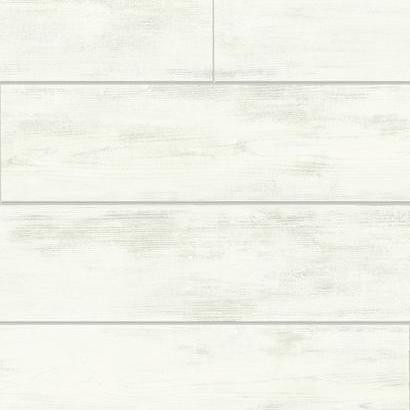 Shiplap Wallpaper, Light Gray, Bolt