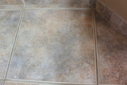 wall color that will tone down pink tan floor