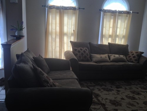 Need Help With Color Scheme Olive Sofa