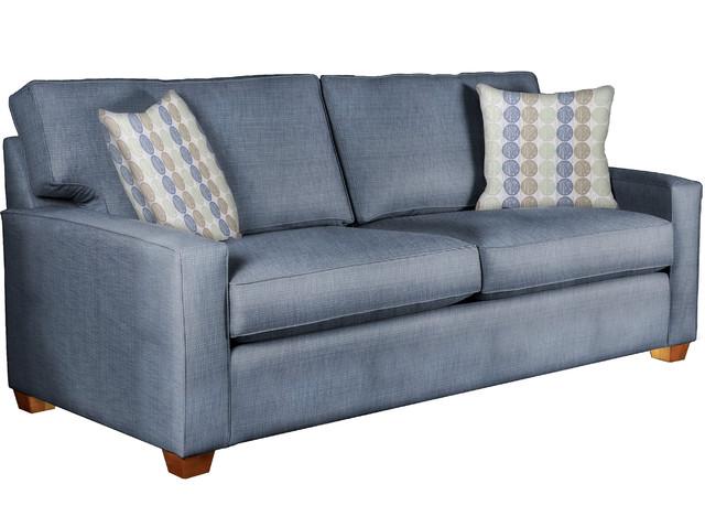 Capris Furniture Industries Inc Preston Sofa With Throw