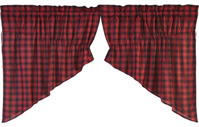 Cumberland Prairie Swag Curtains.