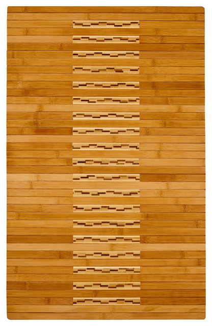 "Bamboo Kitchen And Bath Mat 20""x32""."
