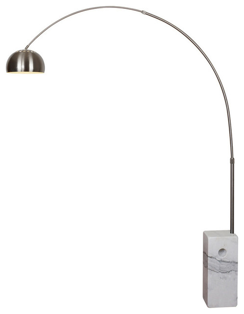 arc floor lamp ikea 5 light black modern white contemporary lamps target globe