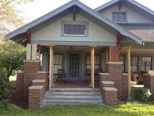 Need help deciding color of our new front porch columns