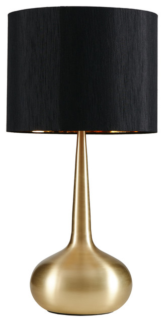Spire Table Lamp, Gold