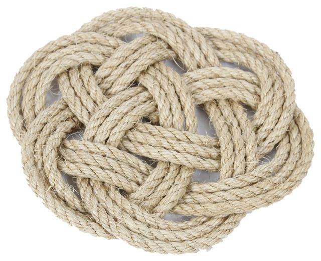 Jute Rope Knot Trivet