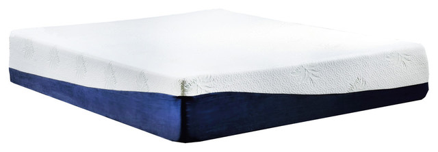 13 inch Memory Gel and Memory foam Mattress, Queen