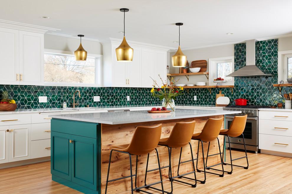 Kitchen - transitional kitchen idea in Minneapolis